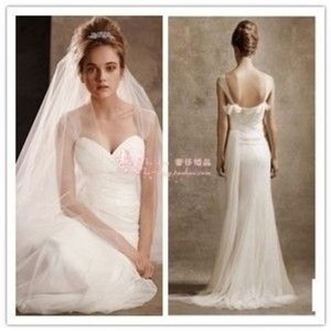 White By Vera Wang Vw351003 Wedding Dress