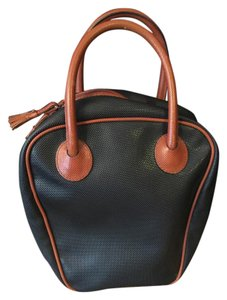Bottega Veneta Vintage Bottega Satchel in Black and brown