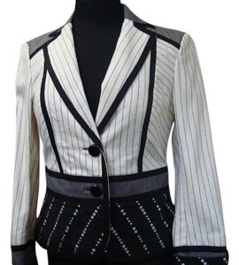 Worth Jacket Black and off white Blazer