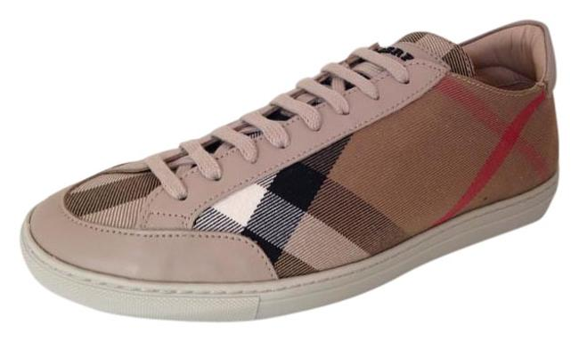 Item - Brown House Check Nova Lace-up Sneakers Size US 8 Regular (M, B)