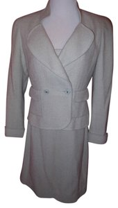 Chanel Vintage Chanel Boutique Blue Dress & Jacket Suit Size 42 Reduced!