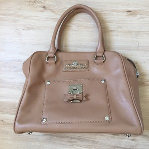 My Flat in London Satchel in Tan/Cashmere