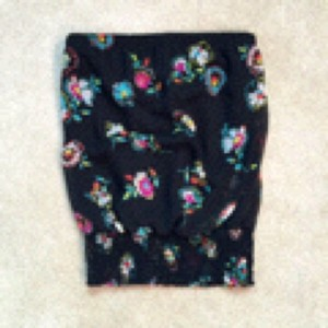 Lily White Top Black/multi
