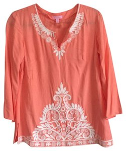 Lilly Pulitzer Top Orange