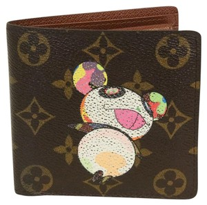 Louis Vuitton Louis Vuitton Limited Takashi Murakami Panda LV Monogram Wallet