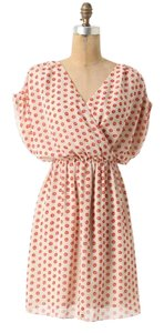 Anthropologie short dress Collecting Dots Boxy on Tradesy