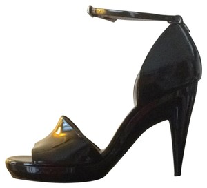 Chloe Black Patent Pumps