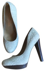 Jessica Simpson Gray Platforms