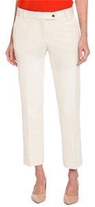 Tory Burch Cream Tb Cropped Free Shipping Capris Milk