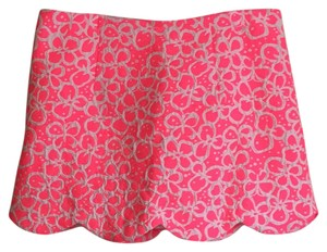 Lilly Pulitzer Mini Mini Skirt Pink