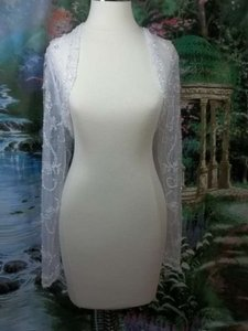 Alfred Angelo White Net 1646ls Formal Wedding Dress Size 22 (Plus 2x)