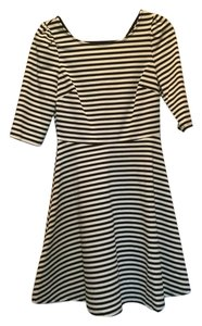 Pixley Stitch Fix Fit Flare Striped Dress