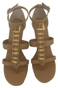 Dolce Vita Nude Wedges
