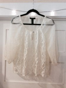 Style & Co Top off-white