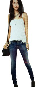 Diesel Distressed Skinny Jeans-Distressed