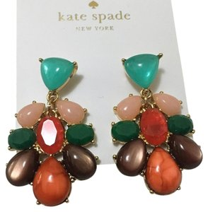 Kate Spade Kate Spade Gold Fine Art Cluster Drop Earrings