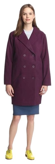 Item - Plum Saturday Over Double Breasted Wool Coat Size 8 (M)