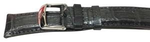 Michele Michele 18mm Gray Alligator Watch Strap