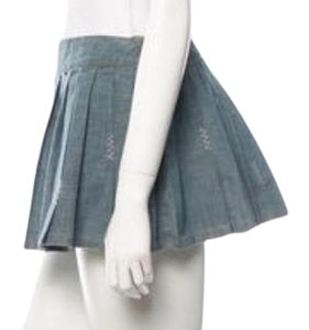 Just Cavalli Spring Summer Mini Jean Mini Skirt Denim