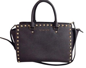 Michael Kors Next Day Shipping Satchel in Dark brown