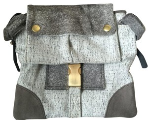 Rag & Bone Grey Clutch