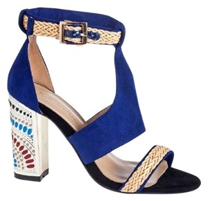 Ice Cube Blue Sandals