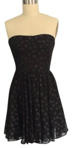 Guess Party Formal Strapless Cocktail Polka Dots Dress