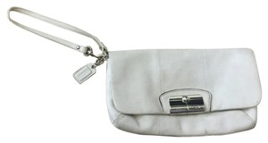 Coach Wristlet in Off White