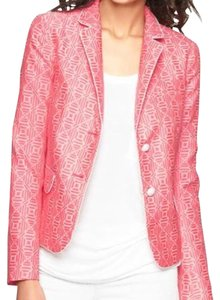 Gap Pink & White Blazer