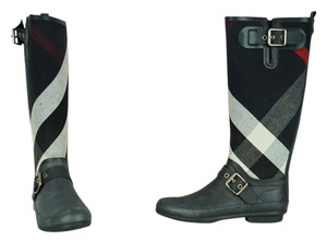 Burberry Navy Boots