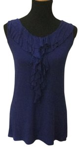 Merona Top Navy Blue