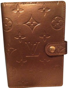 Louis Vuitton Louis Vuitton Bronze Monogram Vernis Small Ring Agenda Cover