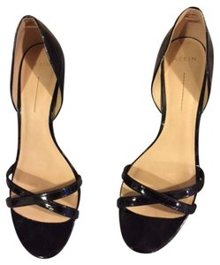 Aerin Sandals black patent leather Pumps