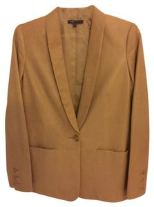 Vince Tan leather Blazer