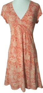 Garnet Hill short dress Peach On Tradesy Knit Summer Lightweight on Tradesy