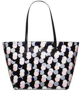 Kate Spade Zip Top Colorful Travel Tote in multi