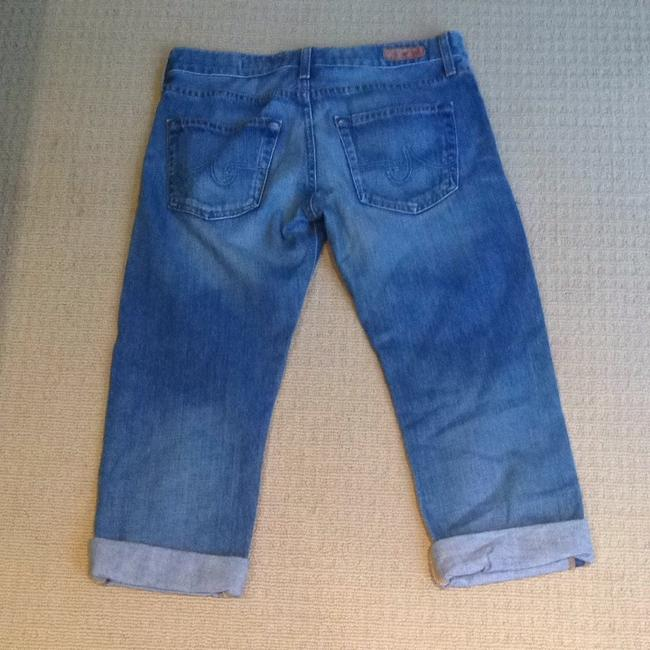 AG Adriano Goldschmied Capri/Cropped Denim-Distressed Image 2