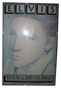 Limited Edition Framed Elvis Presley Print Limited Edition Framed Elvis Presley Print...by Milton Glaser