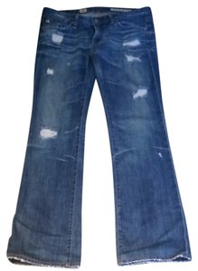AG Adriano Goldschmied Boot Cut Jeans-Distressed