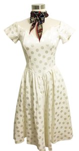 Vintage Sweetheart Polka Dot Dress