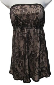 Charlotte Russe Sexy Lace Strapless Tunic