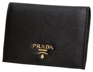 Prada Prada Black Calf Vitello Move Wallet