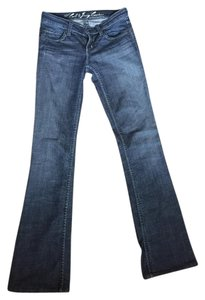 Juicy Couture Juciy Low Rise Cali Denim Flare Leg Jeans-Distressed