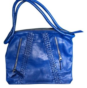 Christopher Kon Satchel in Vivid Blue