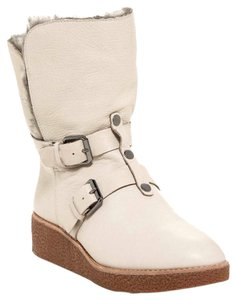 Rebecca Minkoff Fur Lined Leather Mid-calf Boots
