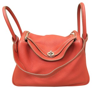 Hermès Hermes Lindy 30 Leather Shoulder Bag