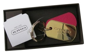 Coach Coach Key Chain + GIFT BOX + Receipt NWT 63785B F63785