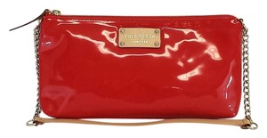 Kate Spade Small Red Patent Leather Shoulder Bag