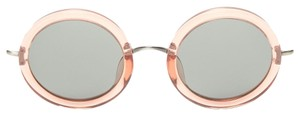The Row NEW! x Linda Farrow 8 Round Sunglasses (Rose)