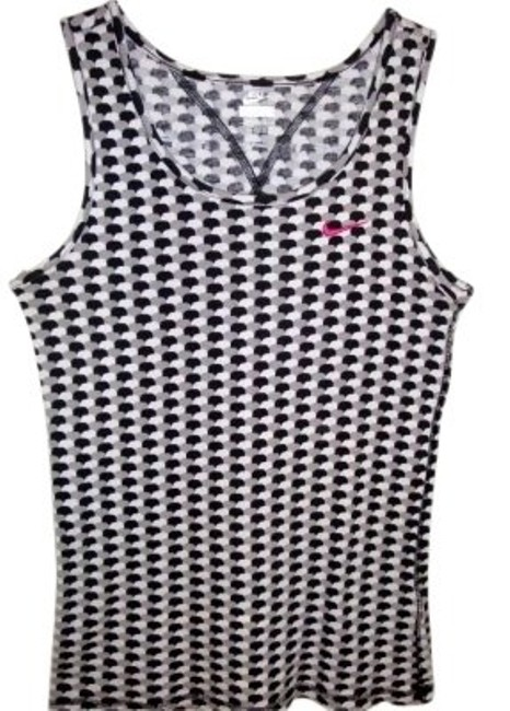 Preload https://img-static.tradesy.com/item/154636/nike-black-white-grey-check-fitted-and-activewear-top-size-8-m-29-30-0-0-650-650.jpg